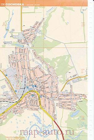 Детальная карта автодорог