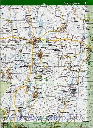 Карта Сосновского района